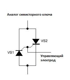 Тиристорный стабилизатор